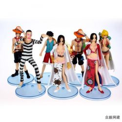 One Piece figure(price for 7 p...