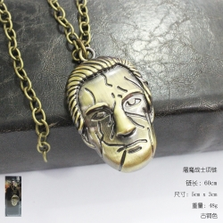 Frankenstein  bronze  Necklace