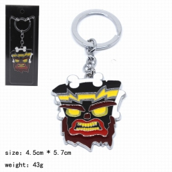 Crash Bandicoot Keychain penda...