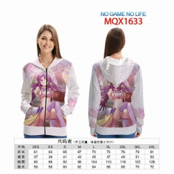 No Game No life Full color zip...