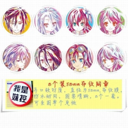 No Game No life Brooch Price F...