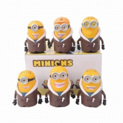 Minions a set of six Boxed Fig...