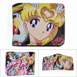 SailorMoon Full color PU twill...