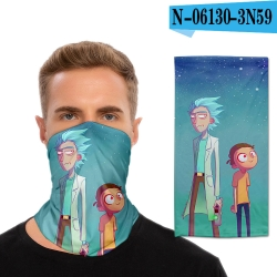 Rick and Morty Anime ice mask ...